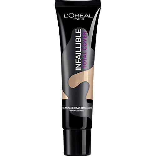 L'Oréal Paris Infaillible Total Cover Fondotinta Copertura Totale a Lunga Durata, 22 Radiant Beige