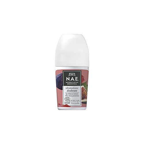 N.A.E. Deodorante Idratazione, con Estratti di Fico e Ibisco Biologici, Formula Vegana, 50 ml