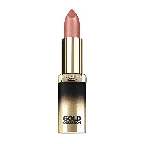 L'Oréal Paris Color Riche Rossetto Gold Obsession, Nude Gold