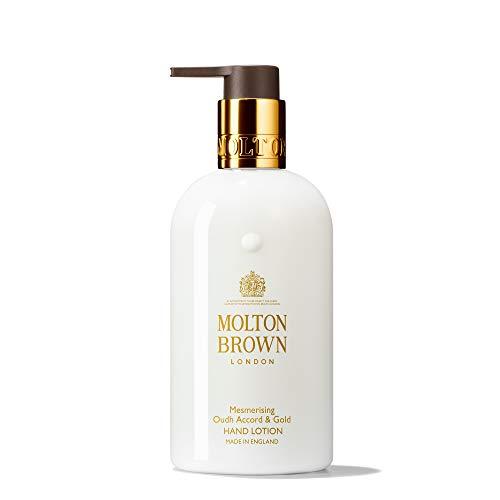 Molton Brown Oudh Accord & Gold Lozione per le mani, 300 ml