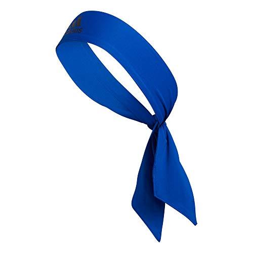 Adidas, fascia per capelli Alphaskin unisex, colore blu reale della squadra, taglia unica