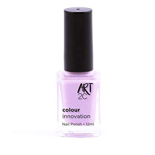 Art 2C Pretty Lilac Colour Innovation Classic Nail Polish - Smalto per unghie classico, 96 colori, 12 ml, colore: 011