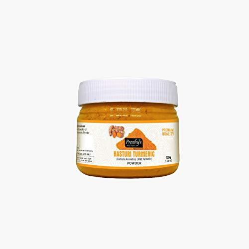 Kasturi - Cipria curcuma per viso luminoso, 100 g