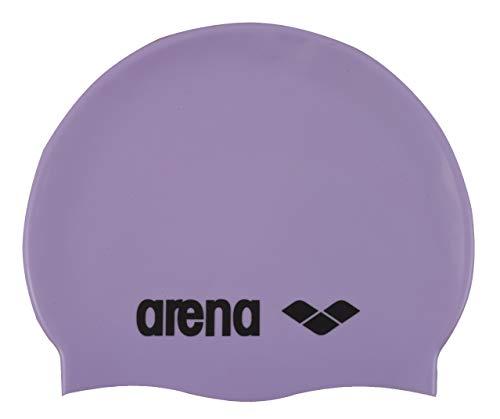 Arena Classic Silicone, Cuffia Unisex Adulto, Viola (Parma/Black), Taglia Unica