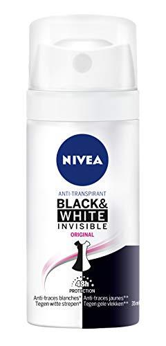 Nivea - Atomizzatore da donna Black & White Original deodoranti/anti-traspirante, 35 ml