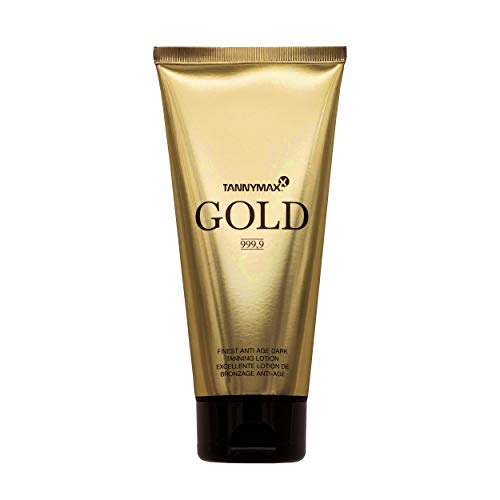 Tannymaxx Gold Anti Age Tanning Accelerator Lotion con Hysilk Hyaluron - 200 ml