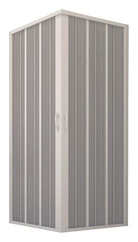 Nuovo Box Doccia FLEX, Soffietto Angolare, 90 x 90 x 185 h. Riducibile