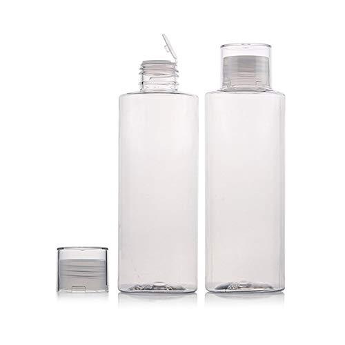 6 bottiglie di plastica vuote trasparenti per lozione bottiglie di plastica possono essere riempite bottiglie di plastica