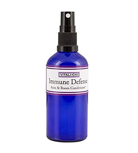 Essenziale puro di purificazione dell'aria Spray - Immune Difesa - con comprovata antivirali Teatree Limone, Limone e Eucalipto Citriodora (Citriodiol) Oli Essenziali - Aura & Room Spray - 50ml