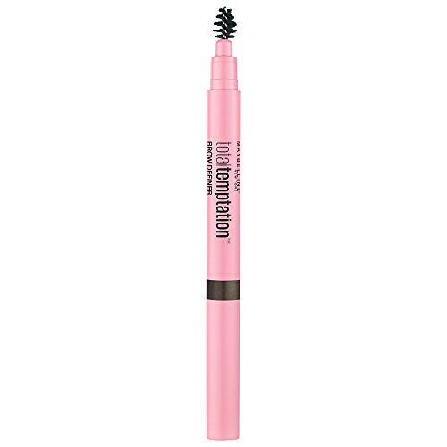 Maybelline New York Total Temptation Matita Sopracciglia, Pigmentata, Cremosa, Risultato Naturale, Deep Brown