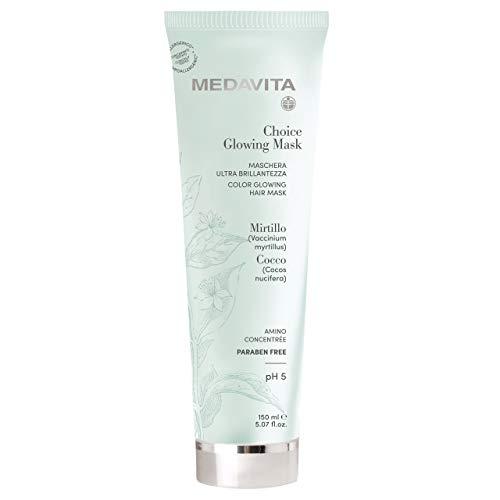 Medavita - Choice Glowing - Maschera Ultra Brillantezza Ph 5, Clear, 150 Ml