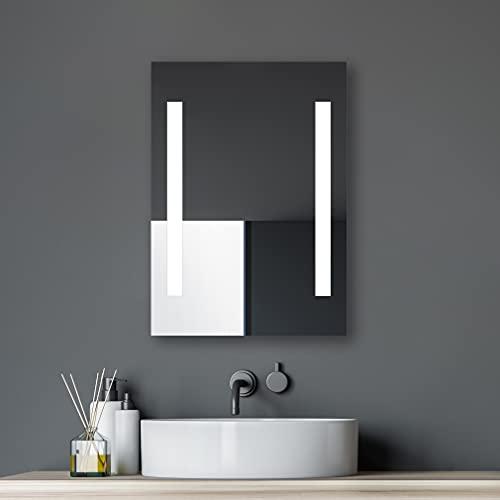 Specchio da bagno LED Talos Horizon, 50 x 70cm