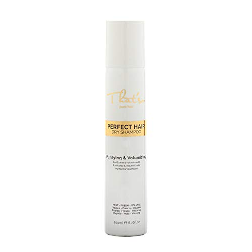 That'So Perfect Hair Dry Shampoo - Shampoo Secco Purificante E Volumizzante con the verde, proteine della seta e amido di riso - 200 Ml