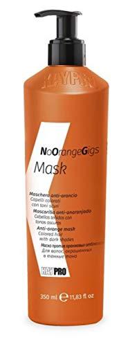 KEPRO Kay Pro No Orange Gigs MASCHERA ANTI-ARANCIO per capelli colorati con toni scuri 350ml