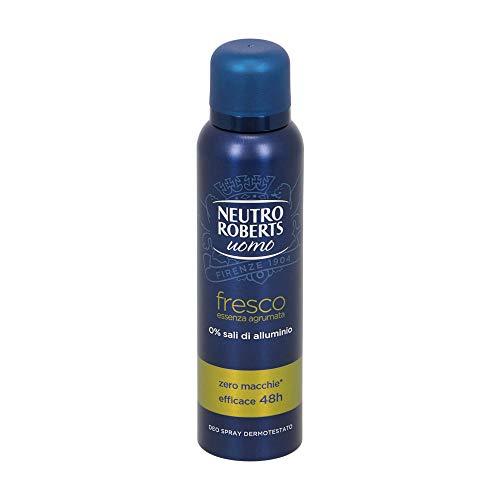 Neutro Roberts Deodorante Spray Uomo Essenza Agrumata, 150ml