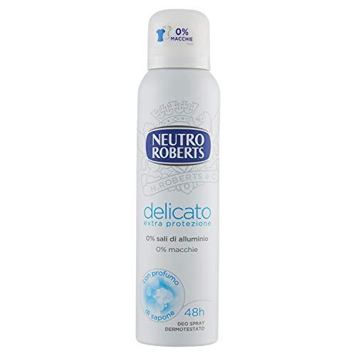 Neutro Roberts Deodorante Spray Delicato Extra Protezione - 150 ml