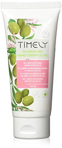 Timely, crema mani nutriente e idratante con olio di oliva, 100 ml