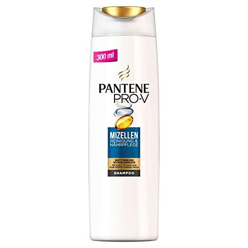 Pantene Pro-V - Shampoo nutriente, per una pulizia delicata con acqua micellare, confezione da 6 (6 x 300 ml)