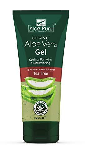 Aloe Pura, Organic Aloe Vera Gel, confezione 2 x 200 ml