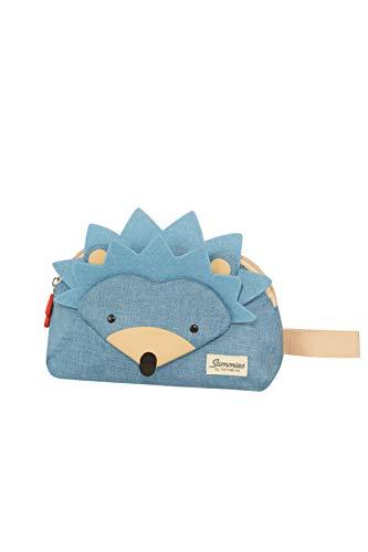 Samsonite Happy Sammies Necessaire Borsa, 2 L, 24 cm, Blu (Hedgehog Harris)