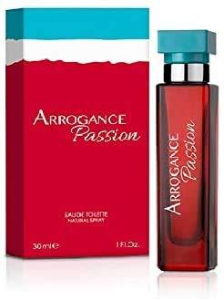 Arrogance passion eau de toilette Donna 30 ml. Spray (set da 3 Pezzi 90 ml.)