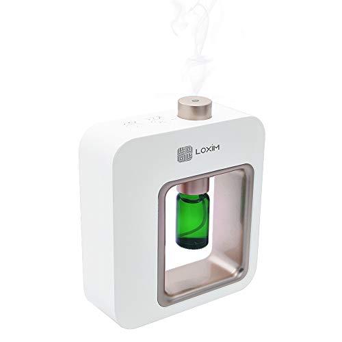 Diffusore di aromaterapia Diffusori di oli essenziali professionali, tecnologia di atomizzazione, bianca (White)