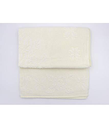 BESANA - Asciugamano Bagno Set 6+6 Viso e ospite in Spugna di Puro Cotone: burano. - Assortiti