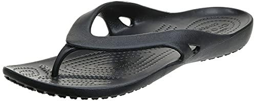 Crocs Kadee II Flip Donna Sandali, Infradito, Nero (Black), 39/40 EU