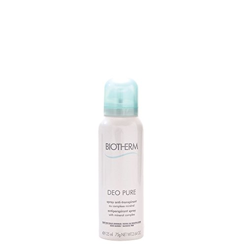Biotherm Deo Pure Spray Anti-Transpirant sans Alcool Peaux Sensibles 125 ml