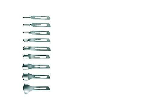 Lama Sgorbia N° 15 Acciaio Kiepe Professional Manicure Pedicure -20Pz.-