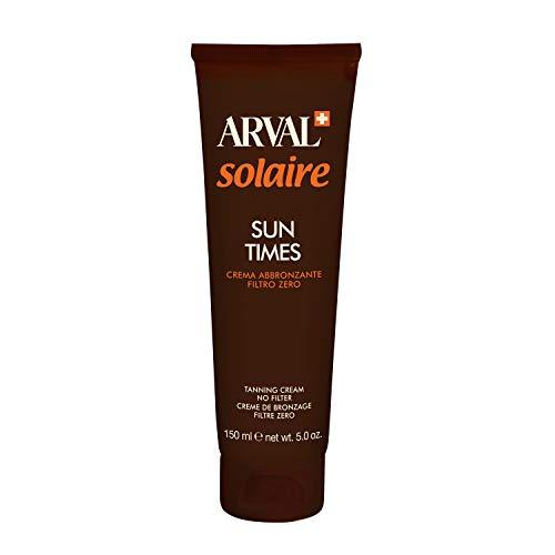 ARVAL Sun Times Crema Abbronzante Filtro Zero - 150 ml