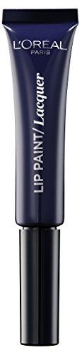 L'Oréal Paris Infallibile Lip Paint Vampies Rossetto Liquido Effetto Lacca, 109 Blue Blood