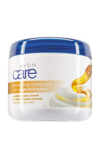 AVON Care crema corpo yogurt e miele idratante multiuso 400 ml
