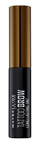 Maybelline New York Tinta Sopracciglia Tattoo Brow Peel-Off, Risultato Definito fino a 3 Giorni, Medium Brown (02), 4,6 g