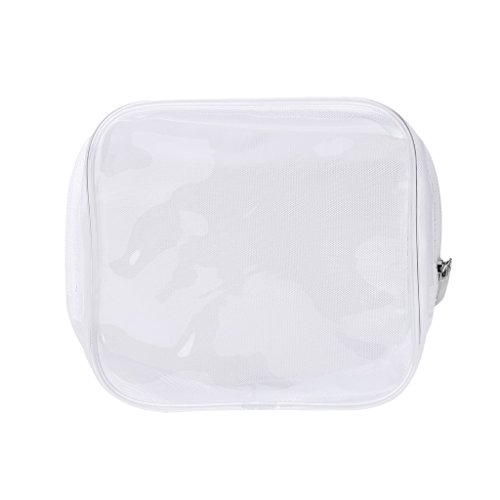 niumanery PVC Clear Makeup Cosmetic Bag Portable Toiletry Pouch Transparent Waterproof New