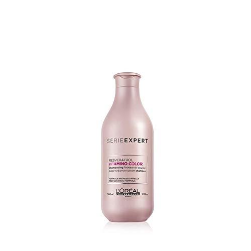 L'Oréal Professionnel Paris - Serie Expert Vitamino Color Shampoo professionale per capelli colorati, protezione del colore fino a 8 settimane, luminosità istantanea, con anti-ossidanti, 300ml