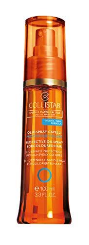 Collistar Olio Spray Capelli Protezione Tonalità, 100 Millilitri