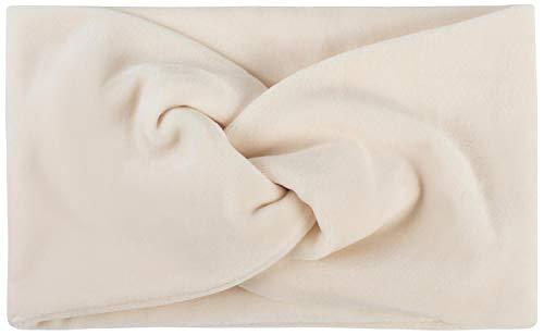 styleBREAKER Fascia per Capelli da Donna in Look di Velluto con Nodo e Fascia Elastica Fascia per la Testa 04026040, Colore:Crema