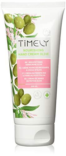 Timely, crema mani nutriente con olio di oliva, 200 ml