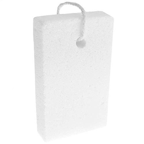 PrimeMatik - Pietra pomice per Pulizia e lucidatura. Barra per Calli da 100 x 60 x 20 mm