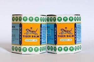 Tiger Balm, Balsamo di tigre bianco, confezione doppia, balsamo naturale per aiutare la circolazione sanguigna e contro problemi di raffreddamento, con oli essenziali di alta qualità, 2 x 19,4 g