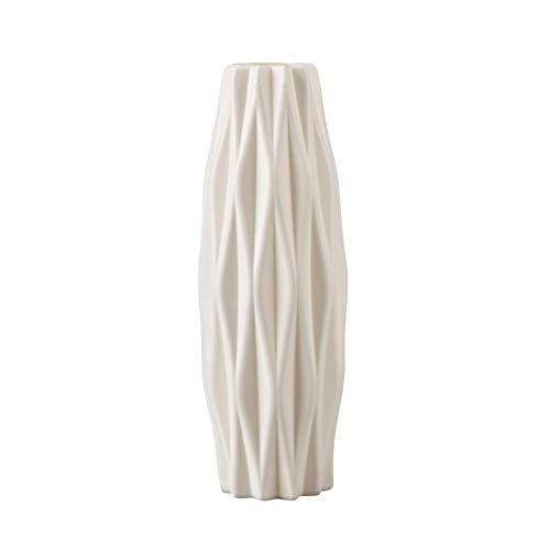 MEYENG Vaso per Fiori, Nordic Imitazione Vaso di Fiori in Ceramica, Bottiglia Vaso di Plastica, Decorazione della Tavola da Pranzo, La Decorazione Domestica Vivere