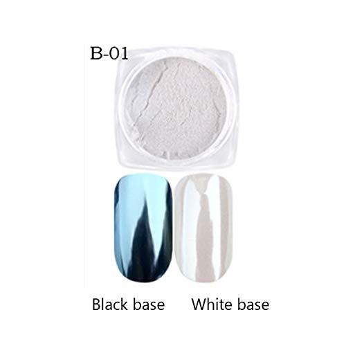 Pigmento perlescente Glitter Pigmento Nail Glitter Perla Nail Art Glitter Nail Art Decorazioni Maquiagem #WL 1