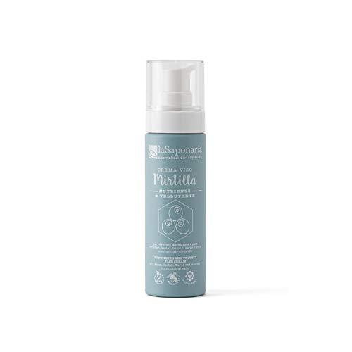 La Saponaria Crema viso nutriente Mirtilla 50ml