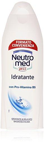 Neutromed - Bagnoschiuma Idratante e Delicato, Con Pro-vitamina B5 - 750 ml