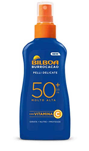 Bilboa Burrocacao Spray Solare No Gas Spf 50+ - 200 Ml