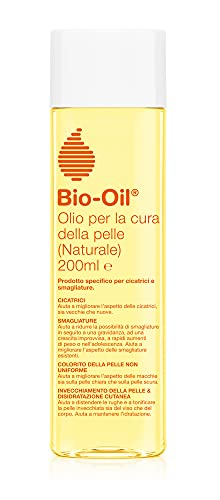 Bio-Oil Olio per la Cura della Pelle Naturale, per Smagliature, Cicatrici, Pelle Secca e Macchie Cutanee, Formula 100% Naturale, 200 ml