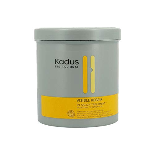 Kadus Professional - Visible Repair In-Salon Treatment Maschera per capelli con estratto di seta e olio di mandorle, formato da 750 ML