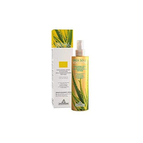 Specchiasol Verattiva Emuls Spray Attivatore Abbronzatura Antiage - 200 ml