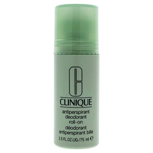 Clinique Anti-Perspirant Deodorante Roll-On, Donna, 75 ml (Il design può variare)